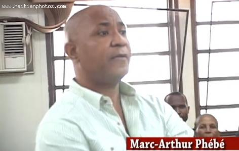 Head of special Cat-Team of the National Palace, Marc Arthur Phebe, in Court