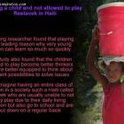 Being a child and not allowed to play - Restavek in Haiti