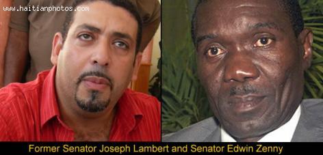 Sherlson Sanon alleged Joseph Lambert and Edwin Zenny  are involved in crime