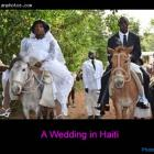 A wedding Tradition in Haiti