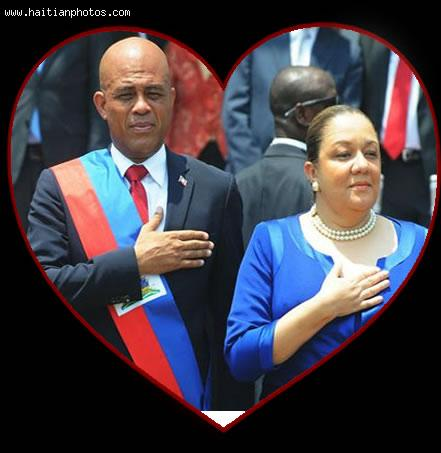 The marriage of Michel and Sophia martelly