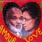 Haitian President Rene Preval and wife, Elizabeth Debrosse Delatour