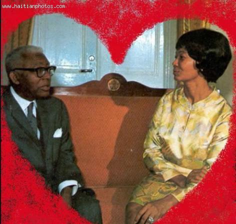 Francois Duvalier and wife, Simone Ovide Duvalier