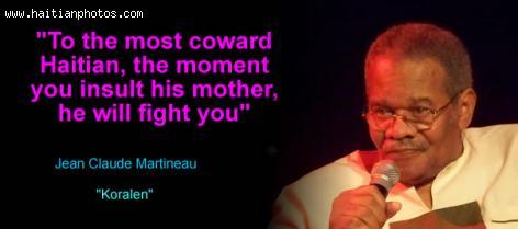 Jean-Claude Martineau (Koralen) on Haitian woman