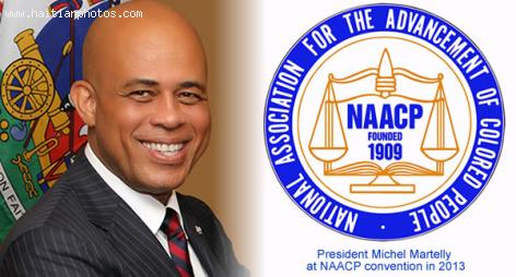 Michel Martelly invited to NAACP Convention in 2013