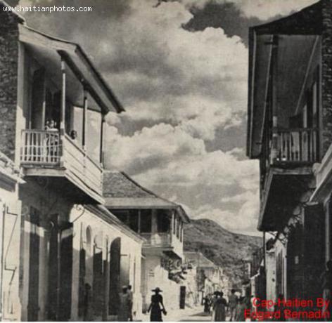 Antique Cap-Haitian's Old Period Architecture