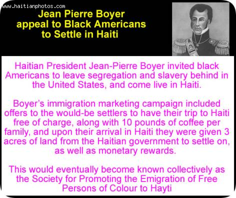 Jean-Pierre Boyer and Promoting the Emigration of Free Persons of ...