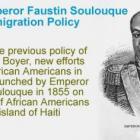 Haitian Emperor Faustin Soulouque