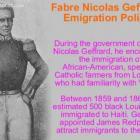 Fabre Nicolas Geffrard Emigration Policy