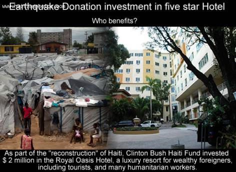 Donated fund invested in Hotel Oasis in haiti