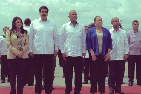 Nicolas Maduro first official visit to Haiti