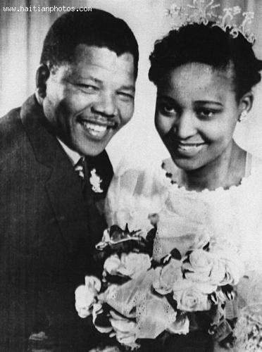 Nelson and Winnie Madikizela Mandela