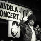 Winnie Mandela fighting for the release of Nelson Mandela