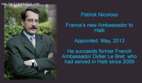 France New Ambassador to Haiti, Patrick Nicoloso