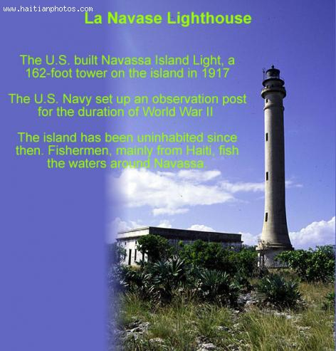 Navassa or Lanavase Island Lighthouse