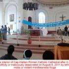 Cap-Haitien Cathedral Vandalized