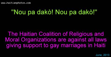 Religious Coalition Against Gay Marriage