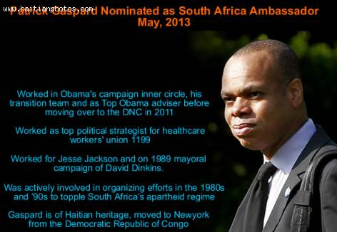 Patrick Gaspard Named U.S. South African Ambassador