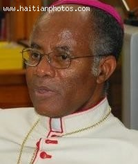 Earthquake Victim - Joseph Mio, Archbishop Of Port-au-Prince