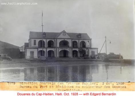 Douane - Cap-Haitien - 1928