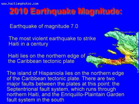 The 2010 Earthquake that hit Haiti