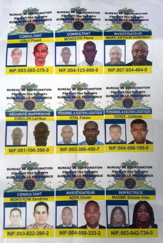 ID Cards by General Coordinator of the Customs, Konpe Moloskot