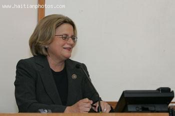U.S. Representative Ileana Ros-Lehtinen Who Will Visit Haiti