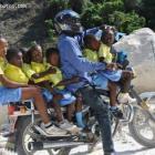 Motorcycle taxi Haiti