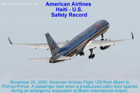 American Airlines - Haiti, Safety Record
