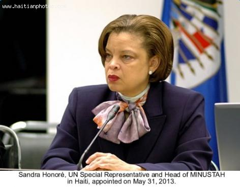 Sandra Honore Appointed New Envoy to Haiti, MINUSTAH