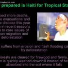 Haiti Residents Indifferent to Hurricane Threat