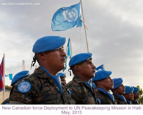Canadian Peacekeeper to Secure Haiti for Election Season