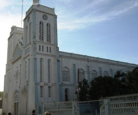 The Cathedrale des cayes, Haiti