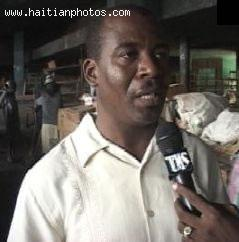 Pierre Yvon Chery mayor of city of Cayes