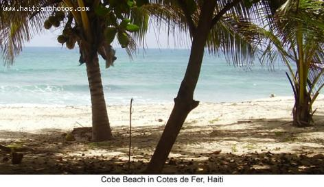 Coby Beach in Cotes de Fer