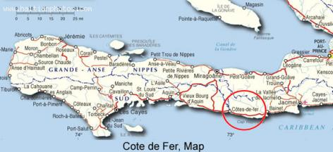 Cotes de Fer, an administrative district in Haiti