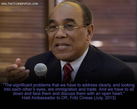Fritz Cineas, Ambassador to Dominican Republic