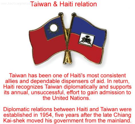 haiti and china relationship