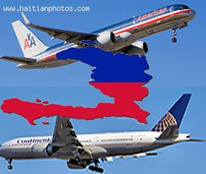 Continental Airlines And American Airlines Going Head To Head In Haiti