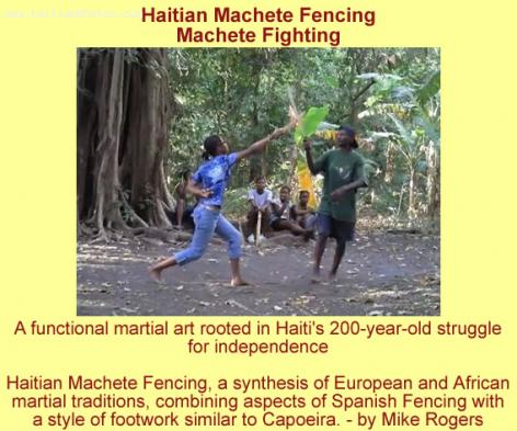 Haitian Army Adopts Tire Machet as Effective Weapon