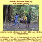 Haitian Army Adopts Tire Machèt as Effective Weapon
