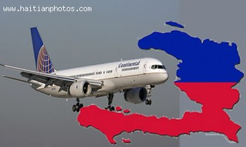 Continental Airlines Is The Next Major Airline To Fly To Port-au-Prince, Haiti