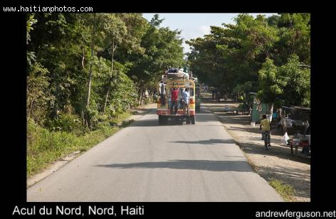 Acul du Nord, near cap-Haitian
