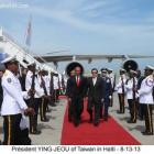 Taiwan leader Ma Ying-jeou Haiti