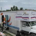 First Lady, Sophia Martelly, Surprise Visit to Petit Goâve Mobile Health Clinic