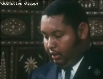 Jean-Claude Duvalier At A Young Age