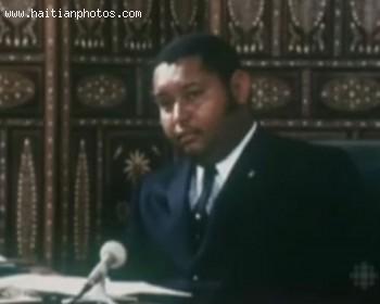 Jean-Claude Duvalier Haitm President For Life