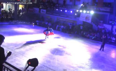 Haiti on Ice show finally on