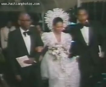 Jean-Claude Duvalier And Michele Bennett Wedding