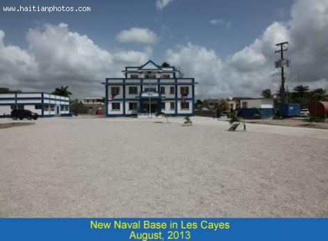 Naval base in the city of Les Cayes